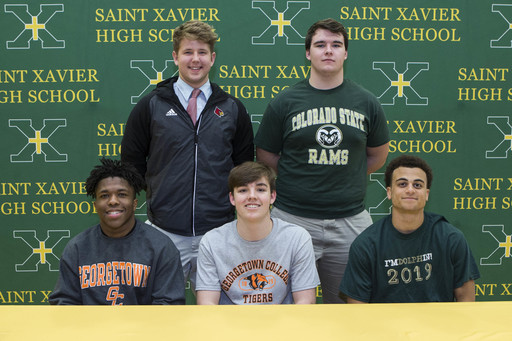 Athletes Commit on National Signing Day