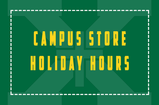 Campus Store Holiday Hours