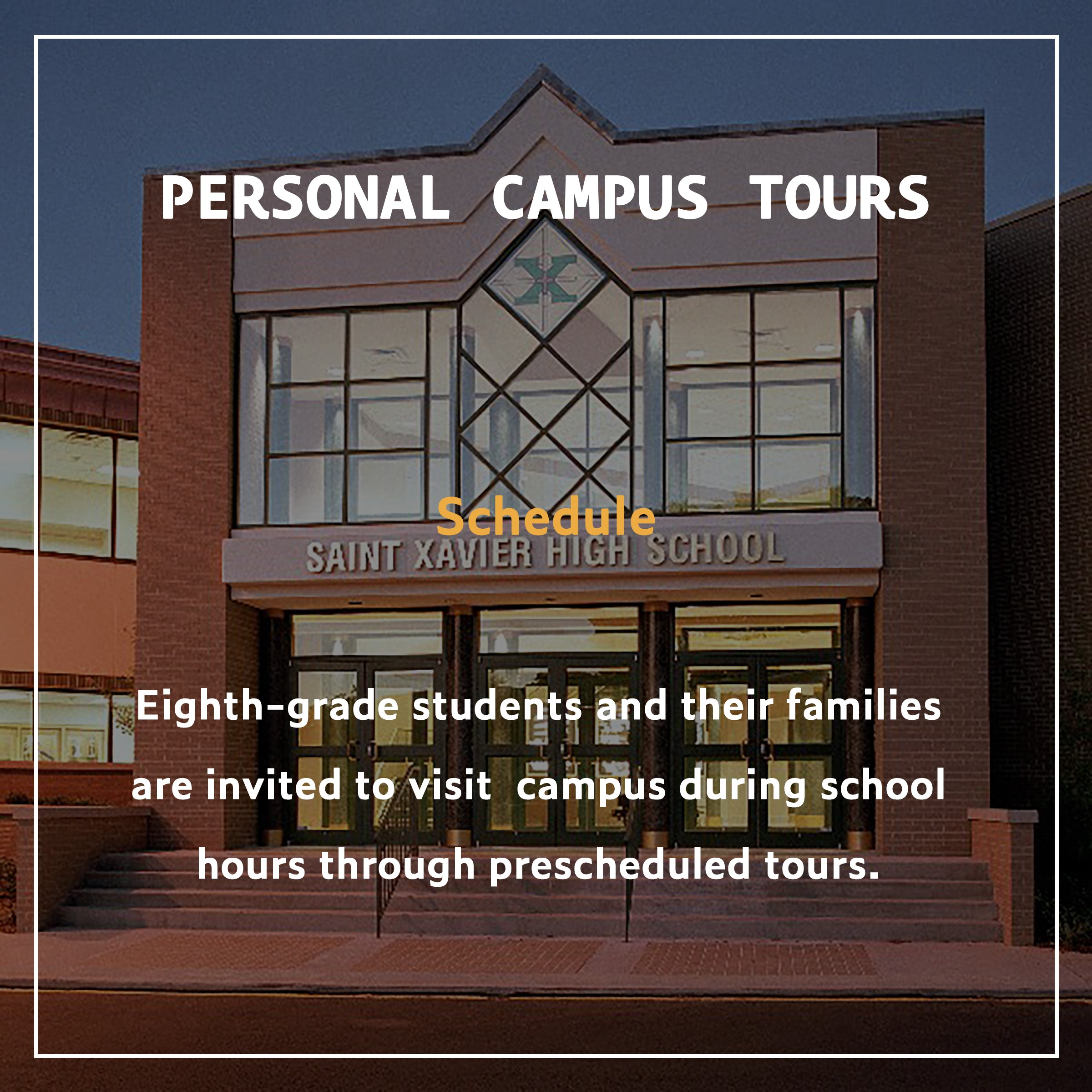 Personal Campus Tours