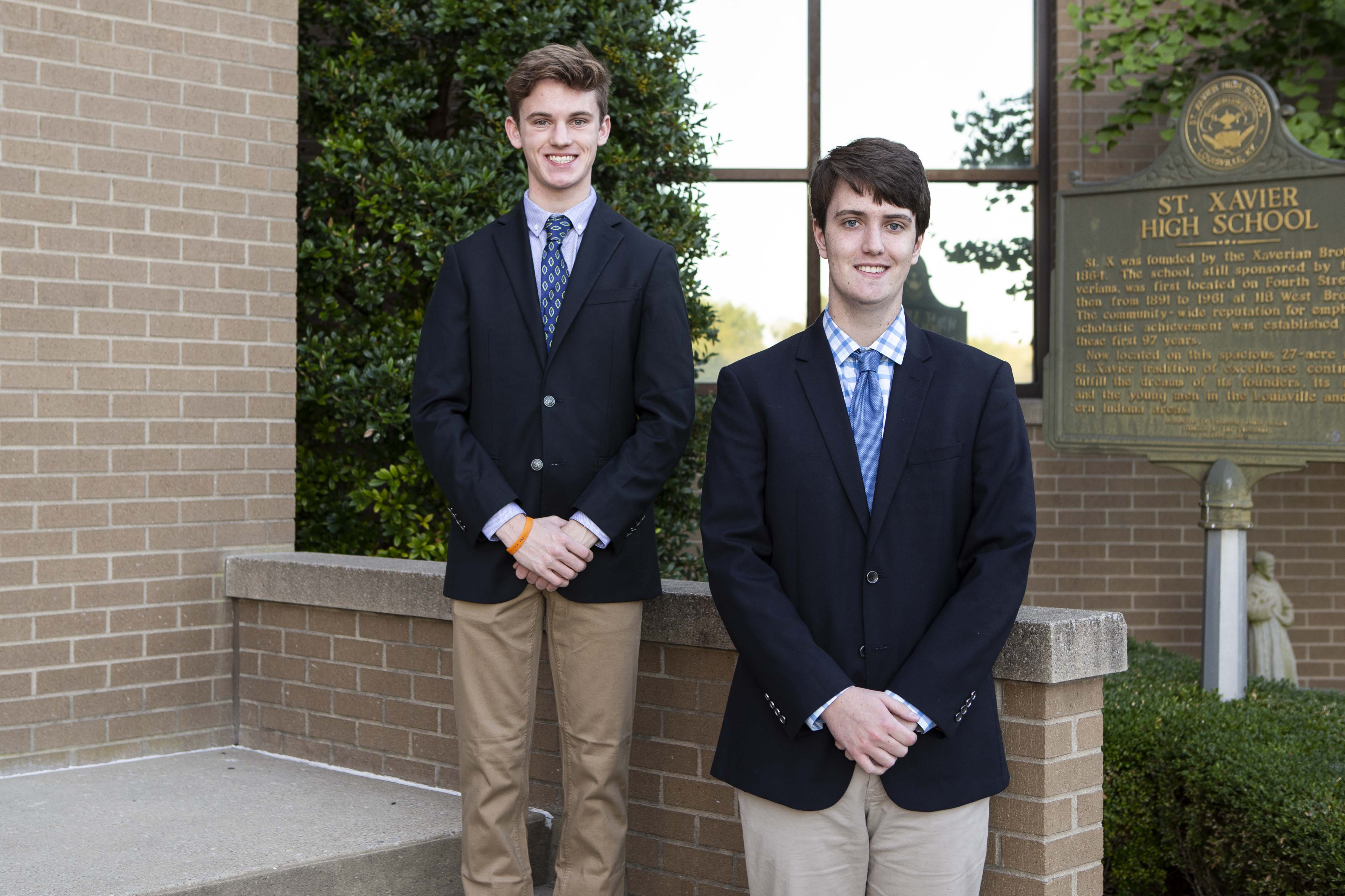 Two Seniors Earn Commended Student Recognition
