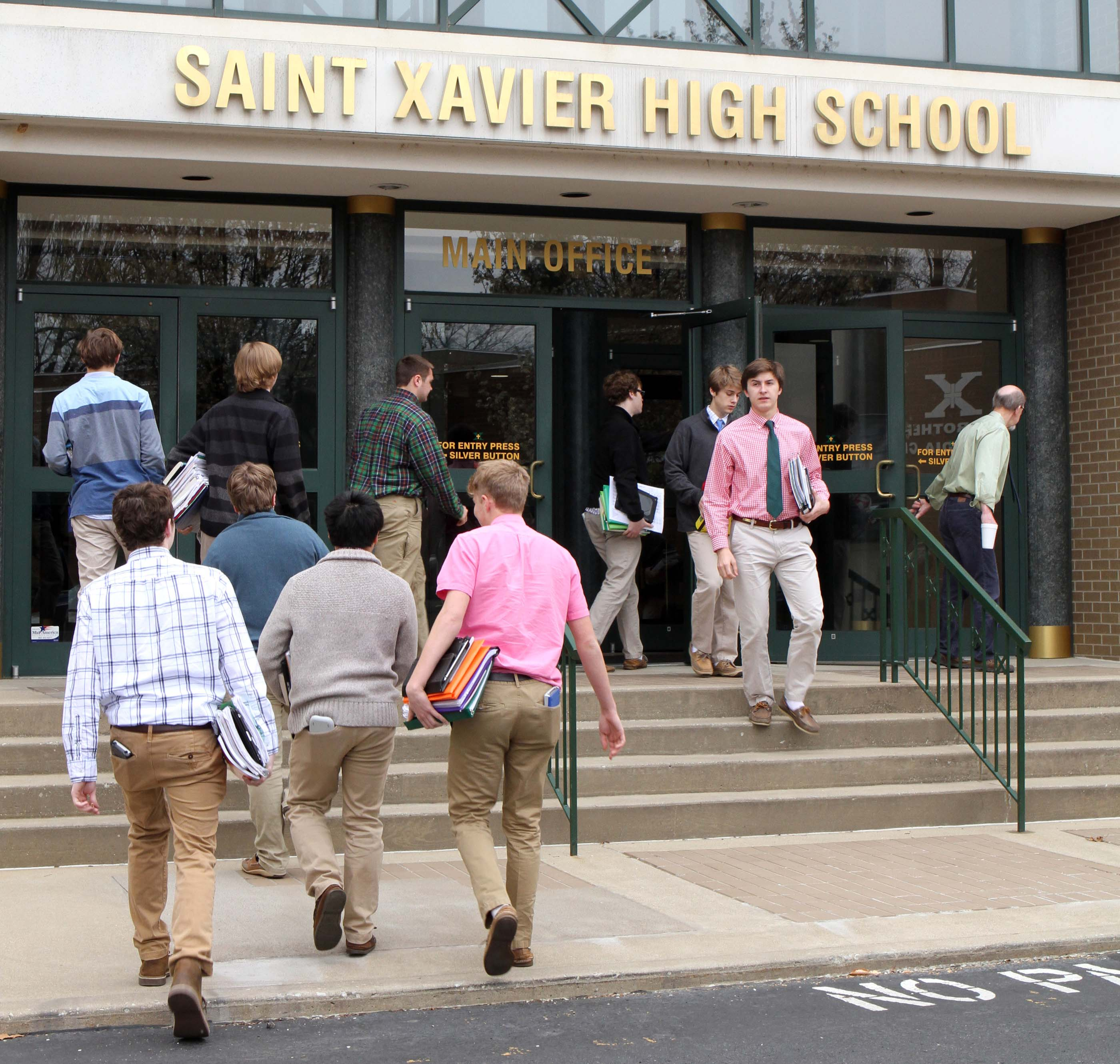 Saint Xavier Students